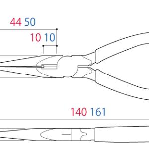Kìm mũi nhọn RP-125